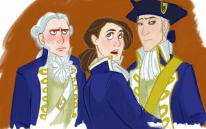 Alex, Norrington and Grummpy Gillette by NautilusL2