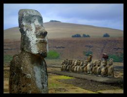 Easter Island - Tongariki 06 by yanjin