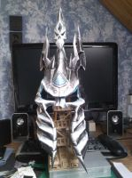 Lich King Helmet papercraft by totya0108