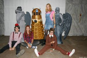 CS'11 Doctor Who group 2 by Hermy46