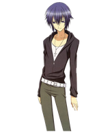 Ikuto render by xPoisonousCherry