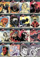 Marvel Masterpieces III Set 6 by RAHeight2002-2012