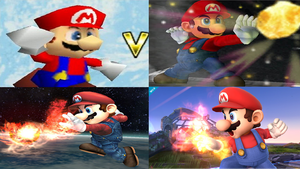 Mario Evolution in Super Smash Bros. by NintendoFanDj