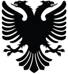 Albanian Eagle Vector by MondiG