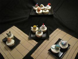 League of legends cupcakes by lorestra