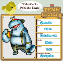 PKMN-Crossing App: Quarbo by Gafagear