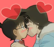 Detective Conan kiss Ran by black4869