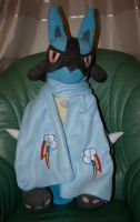 Rainbow Dash Embroidered Scarf by GothyBeans