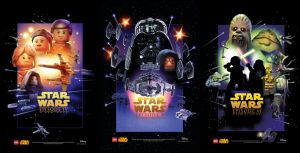 Star Wars Celebration Posters Ep.4-6 by moleism