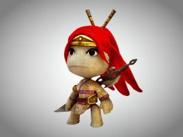 Nariko Little Big Planet HDR by Sun2DustART