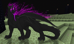 Enderdragon by mute-owl