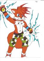 Electrified Foxy by Stripes-the-Raccoon