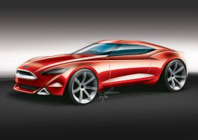Ford RWD Coupe by garyjpaterson