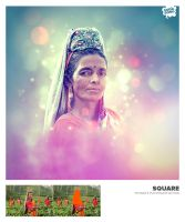 SQUARE Potraits Photoshop Action by SodaSong