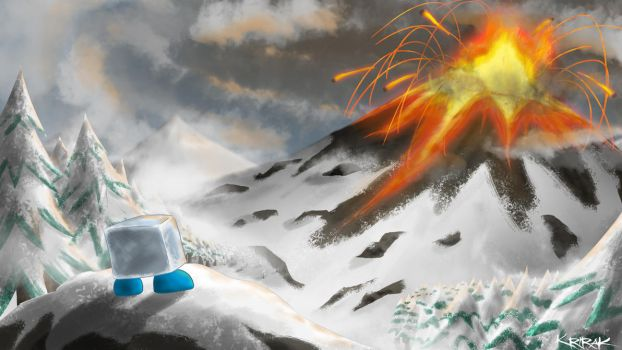 Fire and Ice concept art 1 by Master-Cehk