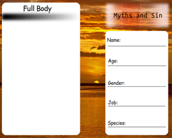 Myths and Sins Entry Form by sonicnshadow321
