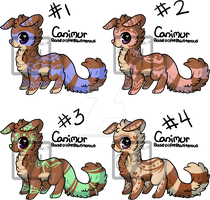 [OPEN] 001 Point Set Price Canimur by NightWind87