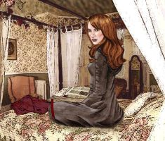 Hermione's room by frodobolson72