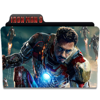 Ironman 3 No Marvel Logo by Neal2k