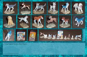 .: Ginga Figures :. by Dunkin-Prime