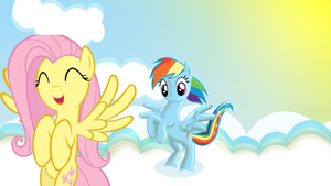 Rainbow Dash and Fluttershy by Fluttershy-12