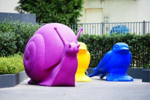 Milano's Snails by Heurchon