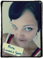 Fansign - Fuck Lowell Gerry by Esarina