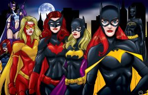 Bat Women - Gotham by MarcBourcier