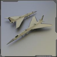 WIP Hypersonic Air Force One  airplane / spaceship by PINARCI