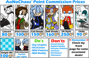 Point Commission Prices! by AoNoChaos