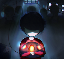 INSIDE (Game) - Fanart by Raffyy