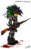 COMMISSION: US Army: Private Ashura by Mimy92Sonadow