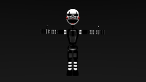 Meet Showtime puppet  by Springtrapgaming256