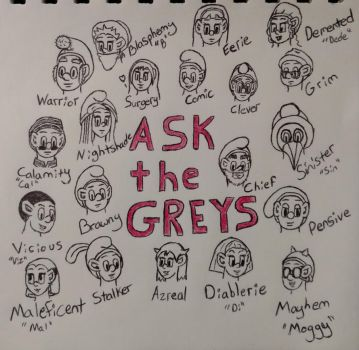 Ask the Greys by Zikore