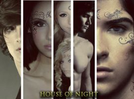 House of night characters by zvunche