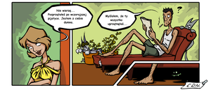 Comic - Pan Plesn1 - Mr.Mildew by Alija