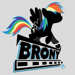 Generic Brony Shirt #0031 by KibbieTheGreat