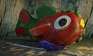 Fishy, Lonely Fishy by LuxXeon