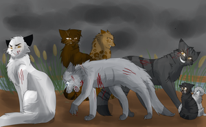 Stonefur's Death by WarriorCat3042