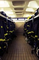 Firefighters' Kit Room by jfleck