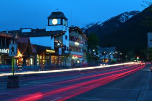 A Night in Banff by TheAzntirong