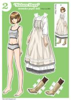 Momoko Paper Doll~  Nature Days by siyilin