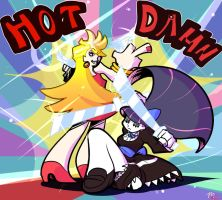 Panty And Stocking Yo by Madbuns