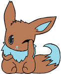 eevee by strawberrythecutie