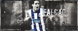Radamel Falcao by shehabkhaled