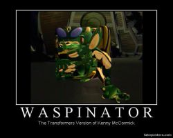 Beast Wars Waspinator Demotivational by Onikage108