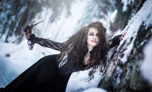 Bellatrix Lestrange cosplay by Alvi