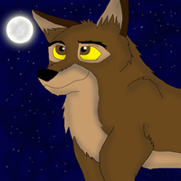 My first drawing of Balto by valentinfrench