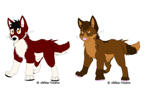 Point Adoptables 2 CLOSED by xMika-Vixenx