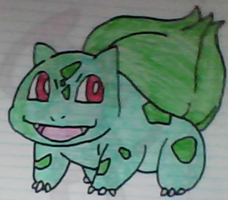 Bulbasaur drawing by SusanLucarioFan16